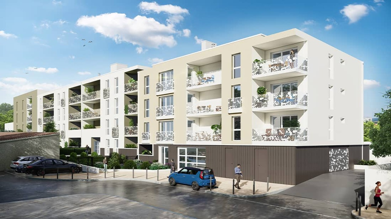Programme immobilier neuf Terre Marine