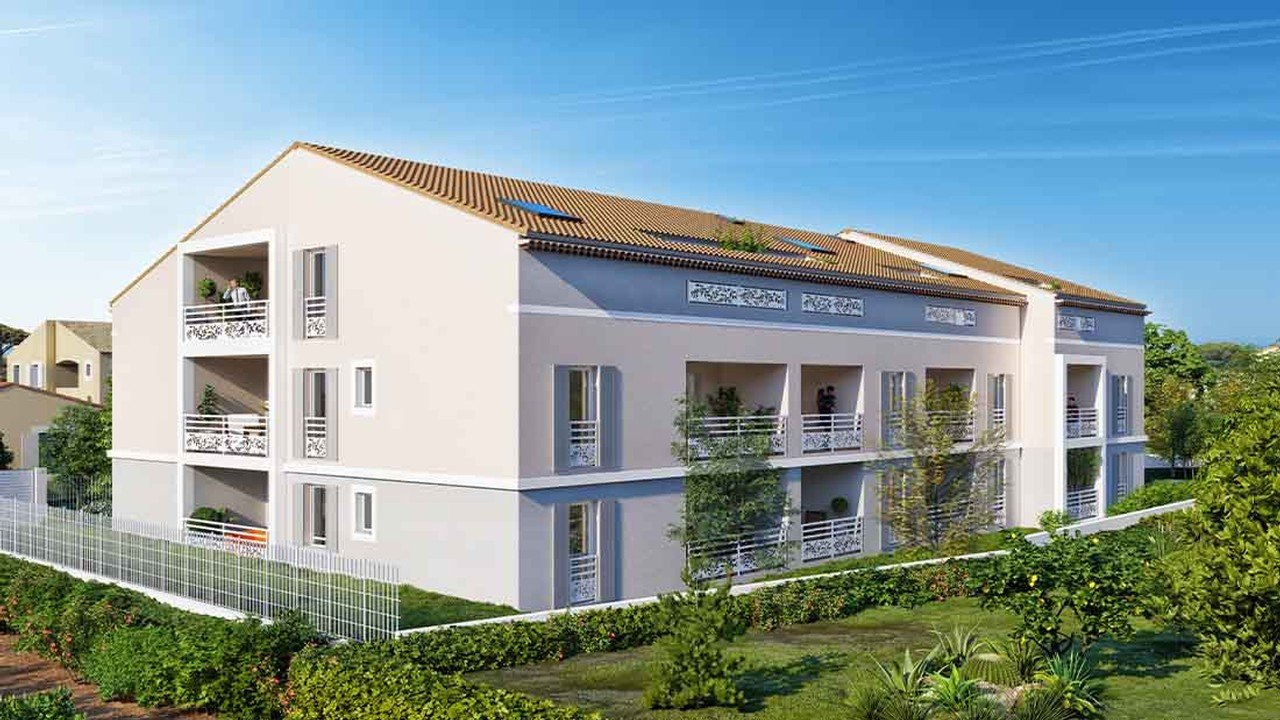 Programme immobilier neuf LE MIMOSA